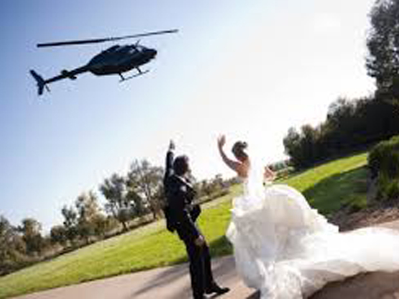 Helifly Wedding a