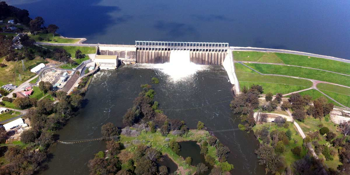 Scenic Flight Hume Weir